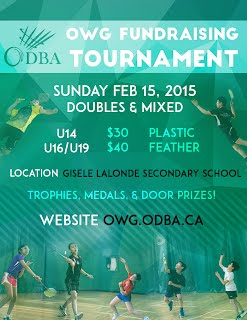 2015 OWG Fundraising Tournament
